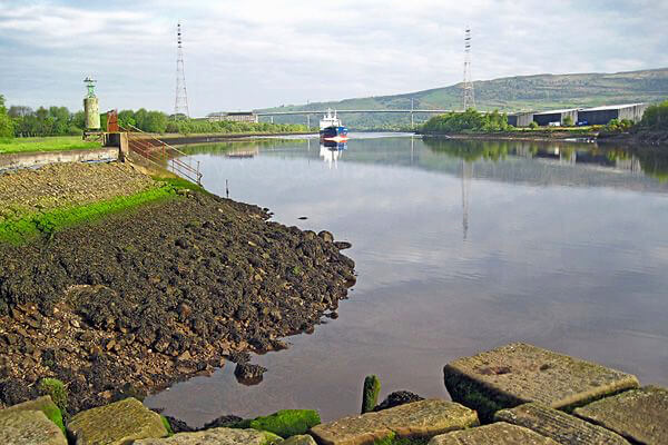 view of the Clyde River